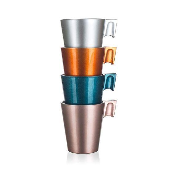 Luminarc Šálek skleněný FLASHY EXPRESSO 80 ml, 4 ks