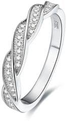 Beneto Srebrni prstan s kristali AGG184 srebro 925/1000