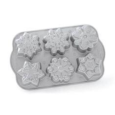 Nordic Ware Forma na minibábovky sněhové vločky Nordic Ware