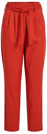 VILA Ladies Visofina Hwre 7/8 Pant Noos Ketchup Pants (rozmiar 36)