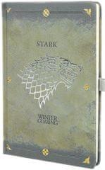 Game of Thrones Blok A5 Hra o trůny - Stark