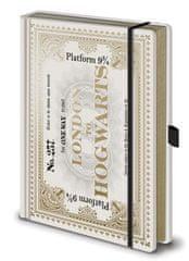 Harry Potter Luxusní zápisník A5 Harry Potter - Bradavický Express