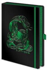 Harry Potter Luxusní zápisník A5 Harry Potter - Zmijozel