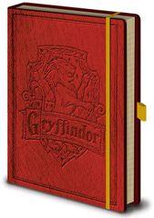 Harry Potter Luxusní zápisník A5 Harry Potter - Nebelvír