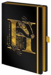 Harry Potter Luxusní zápisník A5 Harry Potter - Mrzimor, černý