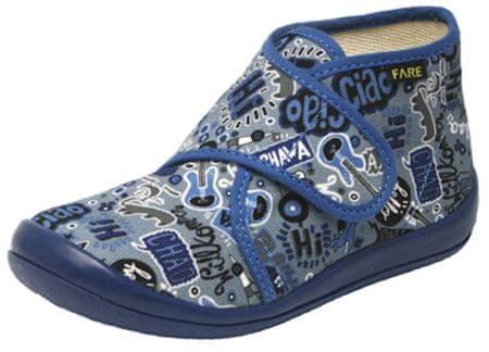 Fare dětská domácí obuv 4113400 23 modrá