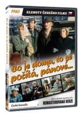 Co je doma, to se počítá, pánové... - edice KLENOTY ČESKÉHO FILMU (remasterovaná verze) - DVD
