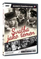 Svatba jako řemen - edice KLENOTY ČESKÉHO FILMU (remasterovaná verze) - DVD