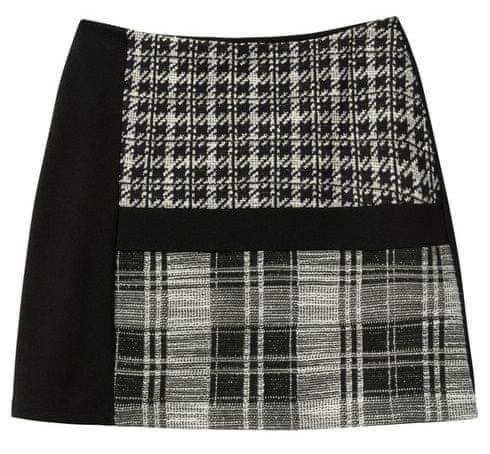 Desigual dámska sukňa Fal Kape S čierna