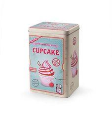 Ibili Designová dóza retro cupcake 13x10cm