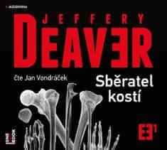 Deaver Jeffery: Sběratel kostí - MP3-CD