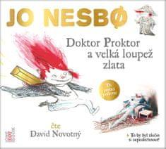 Nesbo Jo: Doktor Proktor a velká loupež zlata - MP3-CD