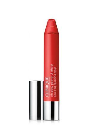 Clinique Chubby Plump & Shine lip gloss, 02 Super Scarlet