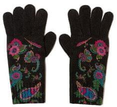 Desigual dámské rukavice Anubis černé