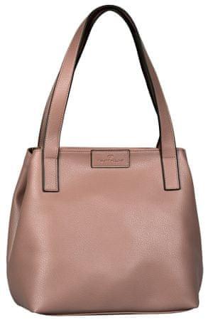 Tom Tailor kabelka Miri Zip Shopper růžová