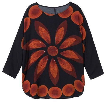 Desigual Blus Laura ženska majica, M, črna