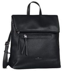 Tom Tailor dámsky čierny batoh Tinna Backpack