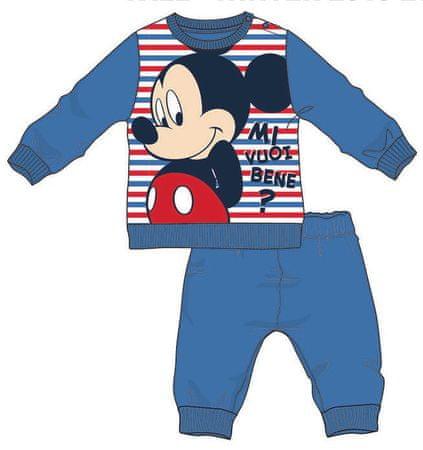 Disney by Arnetta piżama chłopięca Mickey Mouse 80 niebieska