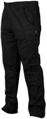 FOX Nohavice Collection Black Orange Combat Trousers