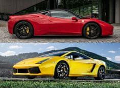 Allegria ferrari 458 Italia vs. Lamborghini Gallardo LP560 Brno