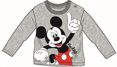 Disney by Arnetta chlapčenské tričko Mickey Mouse 92 sivá