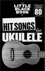 MS The Little Black Book Of Hit Songs For Ukulele Noty pro ukulele