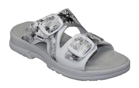 SANTÉ Zdravotní obuv dámská N/517/55/11K/10BP bílá (Velikost 40)