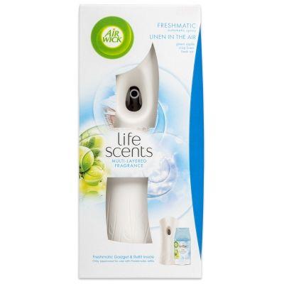 Air wick Automatikus Spray komplett Mosott ruhák a szellőben 250 ml