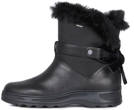 Geox Hosmos ženski zimski škornji D84AUC 04611, 39, črni