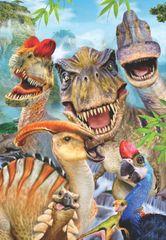 AnaTolian Puzzle Dinosauří selfie 260 dílků