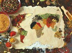 AnaTolian Puzzle Mapa světa z koření 1000 dílků