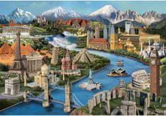 AnaTolian Puzzle Divy světa 2000 dílků