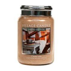 Village Candle Illatgyertya üvegben (Chalet Latte) 602 g
