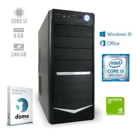 mimovrste=) Home4 Pro namizni računalnik (ATPII-CX3-7774) + 1 leto Office 365 Personal