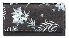 ROXY Dámska peňaženka Hazy Daze 2 True Black Full Bicolys ERJAA03623-XKWW