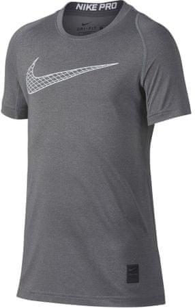 Nike Pro Top fantovska majica, L, siva