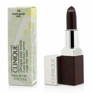 Clinique mat rdečilo za ustnice + primer, 16 Avant Gard Pop