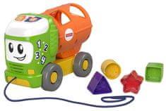 Fisher-Price Hudební autíčko vkládačka GFY41