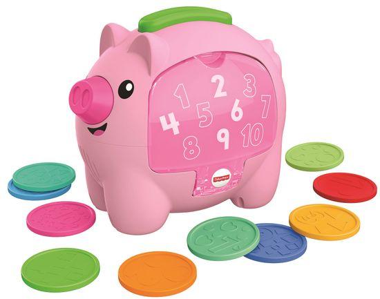 Fisher-Price Prasátko kasička CZ