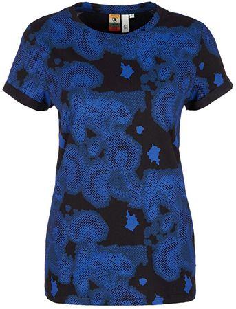 Q/S designed by Női ing 41.908.32.5430. 99A1 Black / Royal Blue (méret XS)