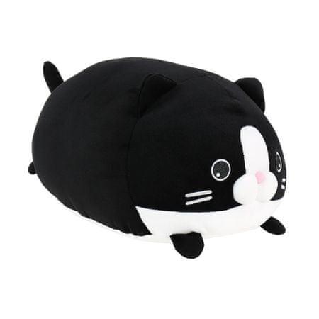 Albi Plyšový polštář černá kočka