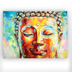 Papillon Obraz Budha, 120 cm, akryl na plátne