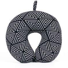 Albi poduszka podróżna z pianki pamięciowej, geometryczne wzory