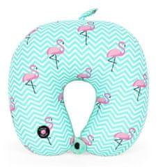 Albi poduszka podróżna do masażu, flamingi