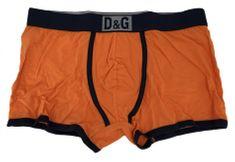 Dolce & Gabbana Pánské boxerky M30819 oranžová - Dolce & Gabbana