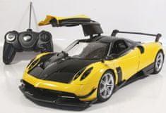 Mondo Motors samochód zdalnie sterowany Pagani Huyara BC 1:14 open door - żółty