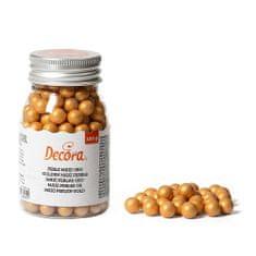 Decora Cukrové zdobení zlaté perly 100g
