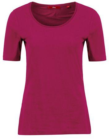 s.Oliver Női póló 14.908.32.2796.4436 Pink ( 34)