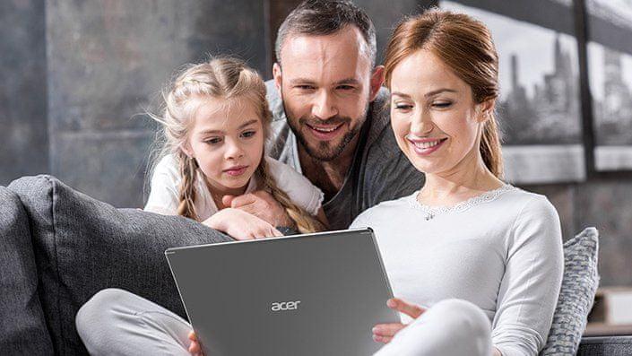 Acer Aspire 5 blue light shield LED podsvícení snížení únavy