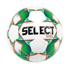 SELECT FB Futsal Attack nogometna lopta, bijela, vel. 4